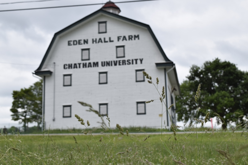 The Eden Hall Barn is drafty, but makes for dramatic events and theater performances
